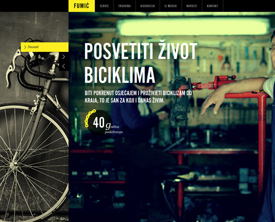 biciklifumic.hr Site Design