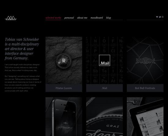 vanschneider.com Site Design
