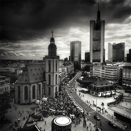 Frankfurt - Against The urban photography