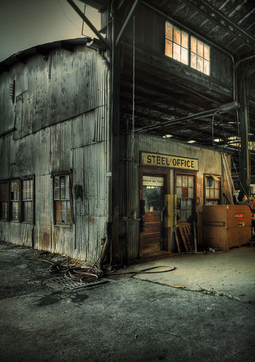 Steel Office urban photography