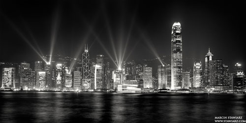 Hong Kong Symphony of Lights urban photography