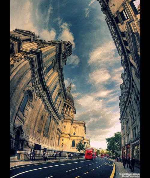 The Towering Spirit of London urban photography