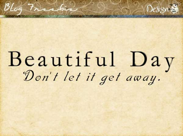 Wednesday SayingZ | Beautiful Day