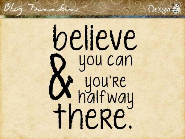Wednesday SayingZ | Believe
