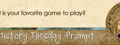 Journal Prompt: What is your favorite game to play?