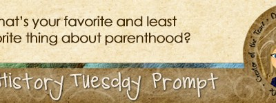 Journal Prompt: What is your favorite and least favorite part about parenthood?