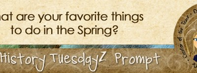 Journal Prompt: What are your favorite things to do in the Spring?