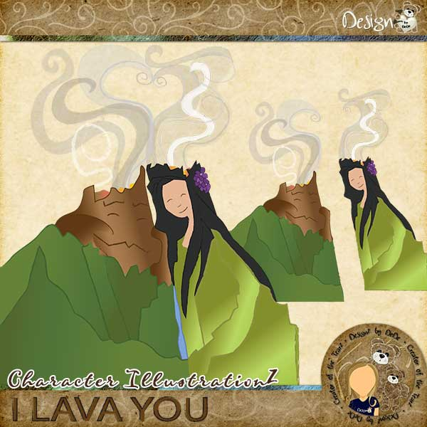 I Lava You by DesignZ by DeDe