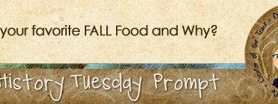 Journal prompt: What is your favorite Fall Food and Why?