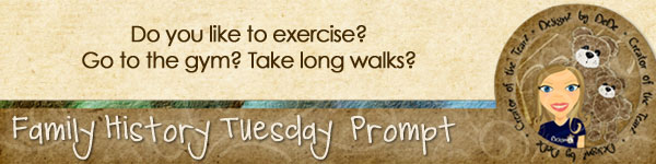 Journal Prompt: Do you like to exercise? Go to the gym? Take long walks?