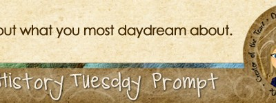 Journal Prompt: Write about what you most daydream about.