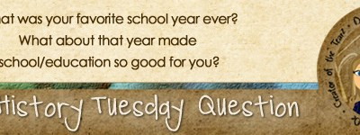 Journal Prompt: What was your favorite school year ever?