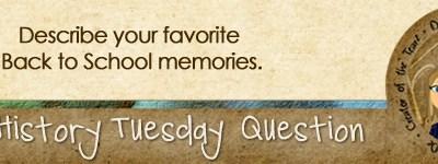 Journal Prompt: Describe your favorite Back to School memories.