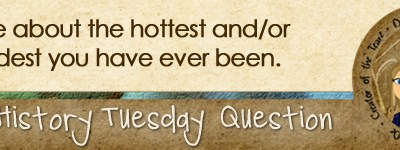 Journal Prompt: Write about the hottest and/or coldest you have ever been.