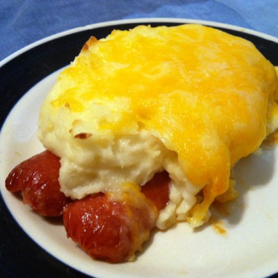 Cheesy Potato Dogs by DeDe Smith