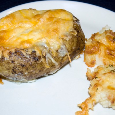 Egg-Stuffed Potatoes & Potato Puffs by DeDe Smith