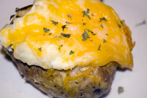 Recipe Thursday   Twice Baked Potatoes + Potato Skins