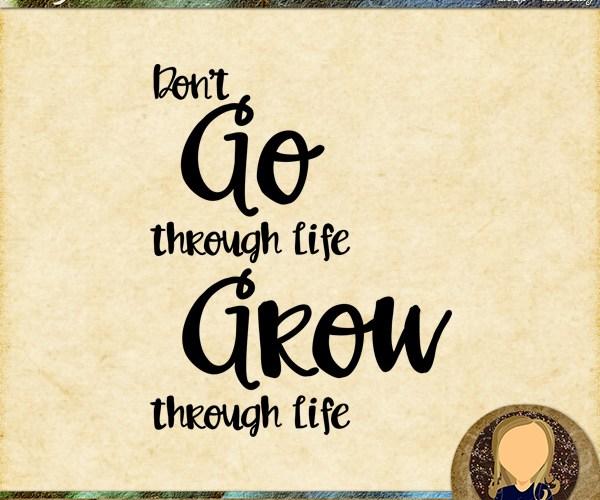 Wednesday WordZ   Grow Through Life