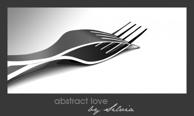vexel illustration abstract love