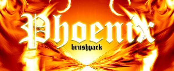 Phoenix photoshop fire brush