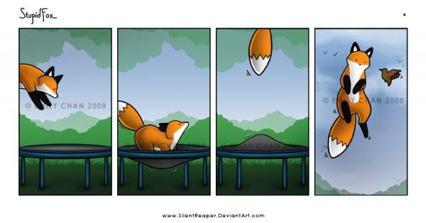 Stupid Fox Comic Super Cute And Funny Comics