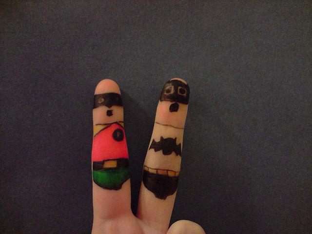 17 Marvelous Photography Of Creative Finger Art