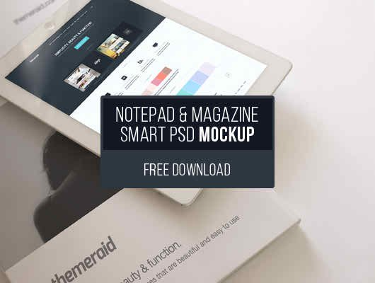 iPad - Book Mockup (Psd Smart Object)