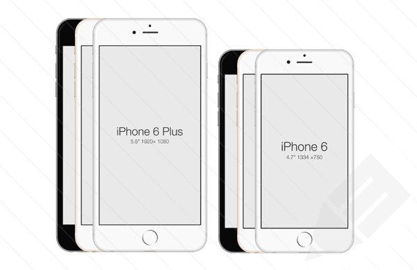 iPhone 6- Free PSD Mockup