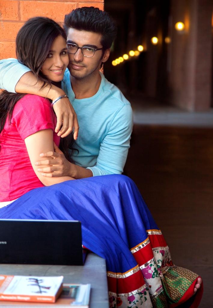 Alia Bhatt & Arjun Kapoor - 2 States
