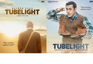 Salman Khan releases posters of Tubelight