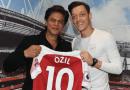 Shah Rukh Khan meets Mesut Özil at Arsenal game