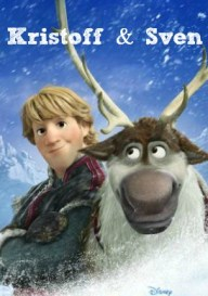 Frozen Kristoff and Sven