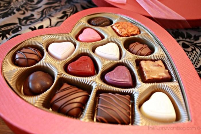 ethel m chocolates closeup