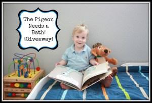 The Pigeon Needs a Bath! {Giveaway} #PigeonNeedsaBath