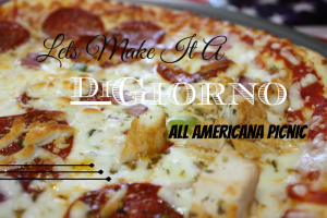 Celebrating Summer With An All American Picnic Starring DiGiorno Pizza