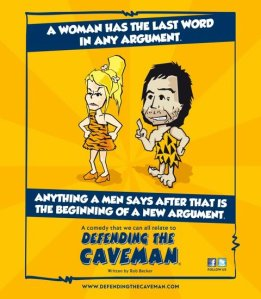 Defending the Caveman at the Fox Performing Arts Center {Giveaway}