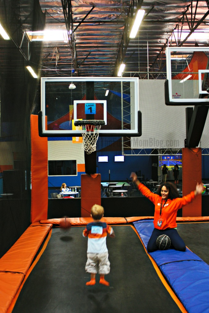 A Jumpin Good Time At A Sky Zone Trampoline Park Birthday