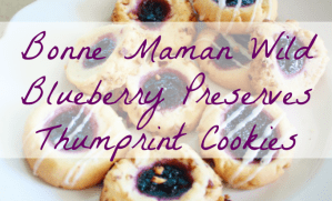Bonne Maman Wild Blueberry Preserves Thumbprint Cookie Recipe