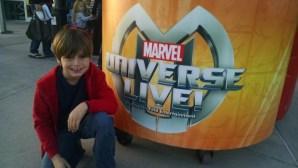 Bam! Pow! Marvel Universe Live at the @CBBankArena!