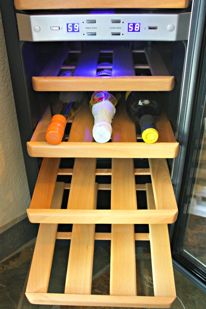 get your chilled wine on newair thermoelectric wine cooler review the funny mom blog. Black Bedroom Furniture Sets. Home Design Ideas