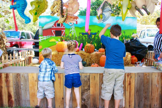 Irvine Park Railroad Pumpkin Patch Carnival Games - The Funny Mom Blog