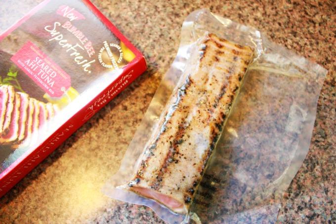 Bumble Bee Seared Ahi Tuna in package - The Funny Mom Blog