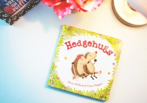 Everyone deserves a hug! Hedgehugs book review