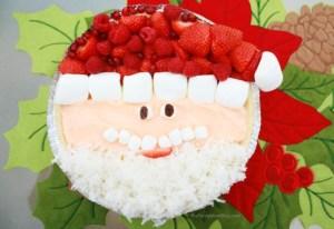 Ho! Ho! Ho! Santa Face Pie