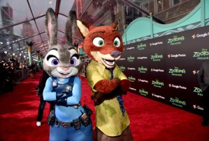 "It was a WILD Night at the ZOOTOPIA Red Carpet ""Fur""miere"