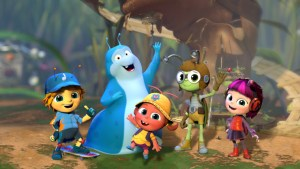 Beat Bugs Coming to Netflix this August! #StreamTeam