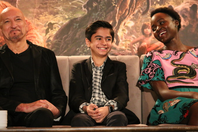 The Jungle Book Press Conference