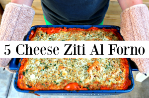 Made With Love And Cheese – 5 Cheese Ziti Al Forno Recipe #PersonalCreations
