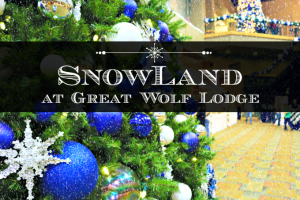Experience Snowland At The Great Wolf Lodge #GWLHowlidays