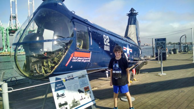 Naval Aviation Experience at the USS Iowa Museum